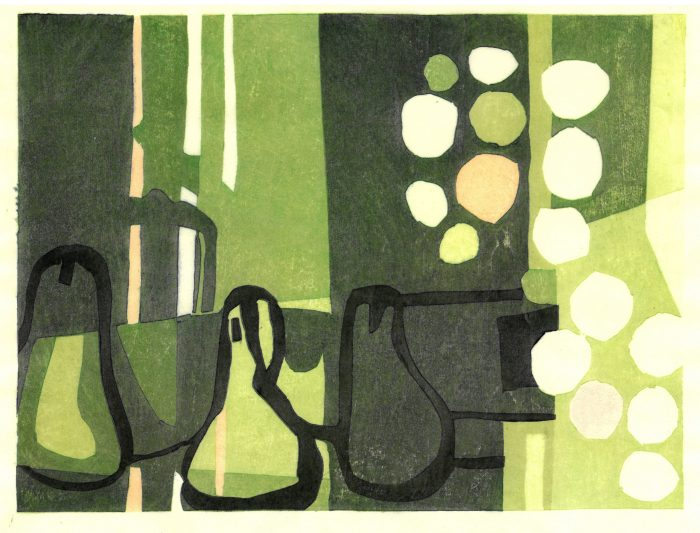 Three pears - Adrian Holmes - House of Prints