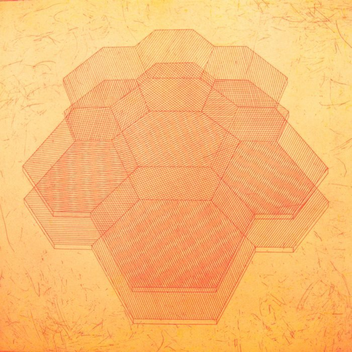 Biocrystals R (2017) Rachel Duckhouse, Etching, 39cm x 39cm