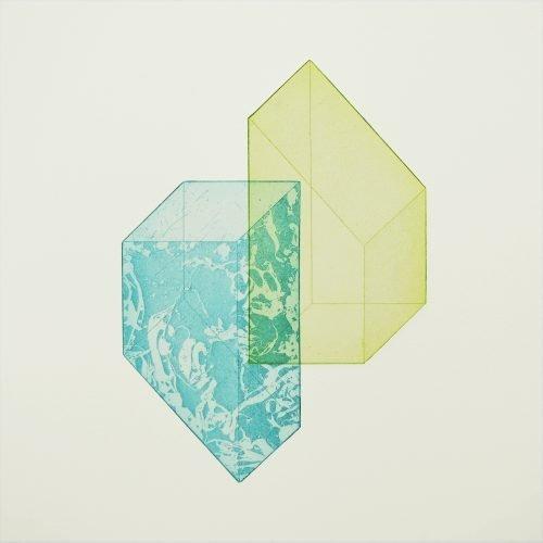 Canberra iii (2019) Rachel Duckhouse, Etching, 39cm x 39cm