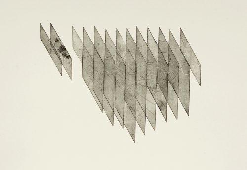 The Deeper the Faster (2013) Rachel Duckhouse, Etching, 72cm x 52cm