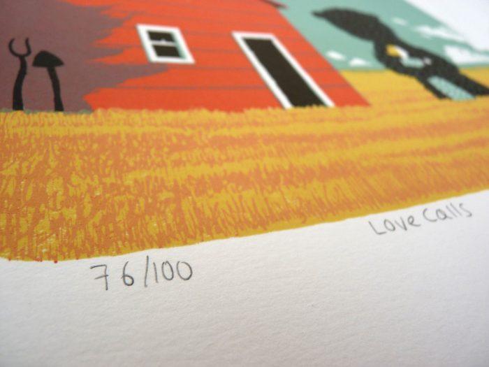 Love Calls - Simon Tozer - Discover Contemporary Art Prints & Printmaking