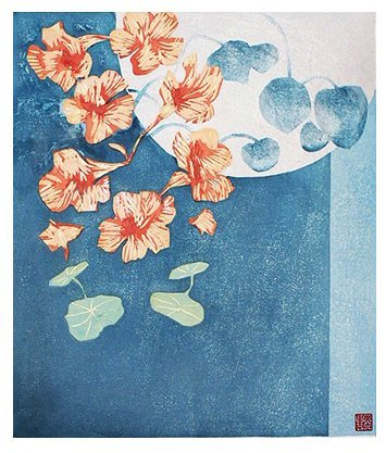 Nasturtium - Adrian Holmes - House of Prints