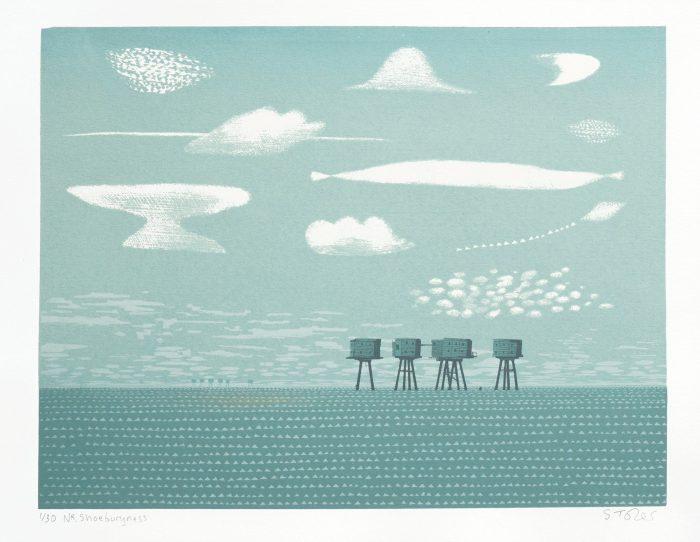 Nr Shoeburyness - Simon Tozer - Discover Contemporary Art Prints & Printmaking