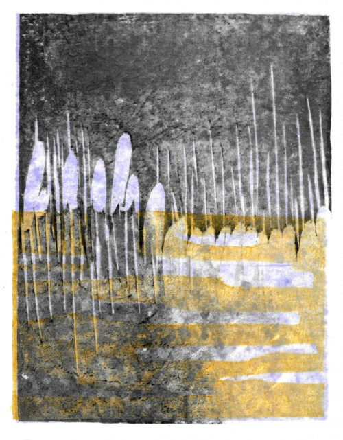 Rushes In Winter - Adrian Holmes - House of Prints