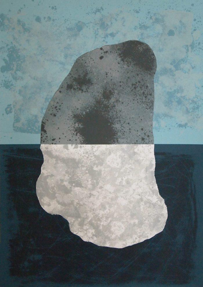 Sennen Split Stone - Graham Black - House of Prints