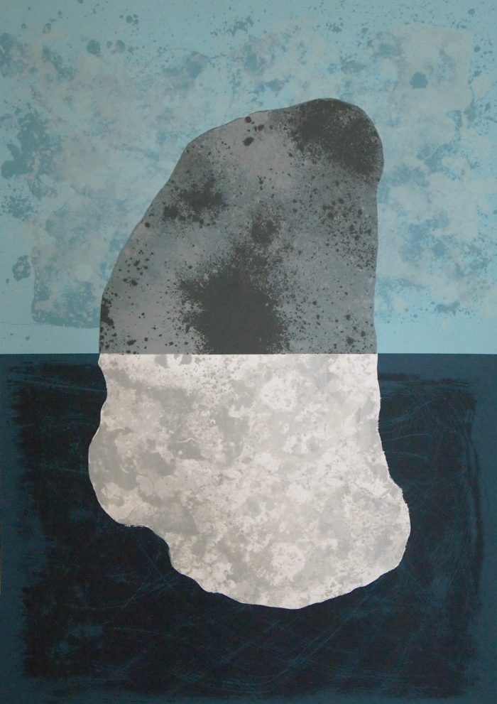 Sennen Split Stone - Graham Black - Discover Contemporary Art Prints & Printmaking