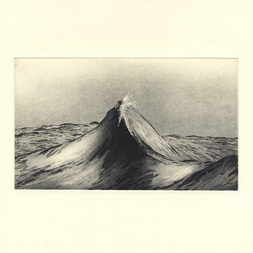 Sublime Peaks (2019) Susan Clarke, Etching, 30