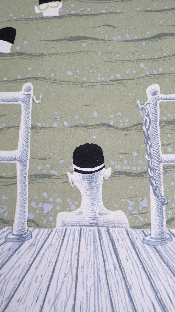 Swimming Club - Simon Tozer - Discover Contemporary Art Prints & Printmaking
