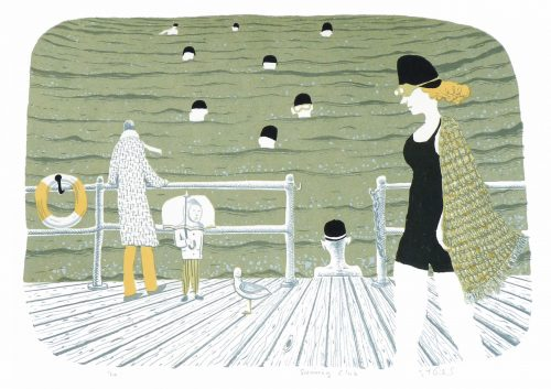 Swimming Club - Simon Tozer - Discover Contemporary Art Prints & Printmaking