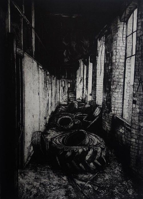 Tyres - Jemma Gunning - Discover Contemporary Art Prints & Printmaking