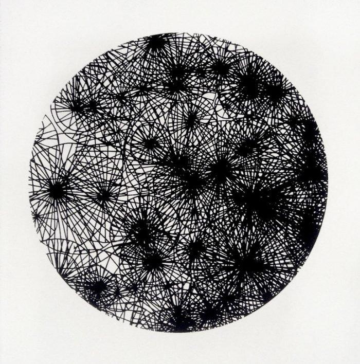 Untitled Black (2014) Jenni Allen, Screenprint, 31 x 31cm
