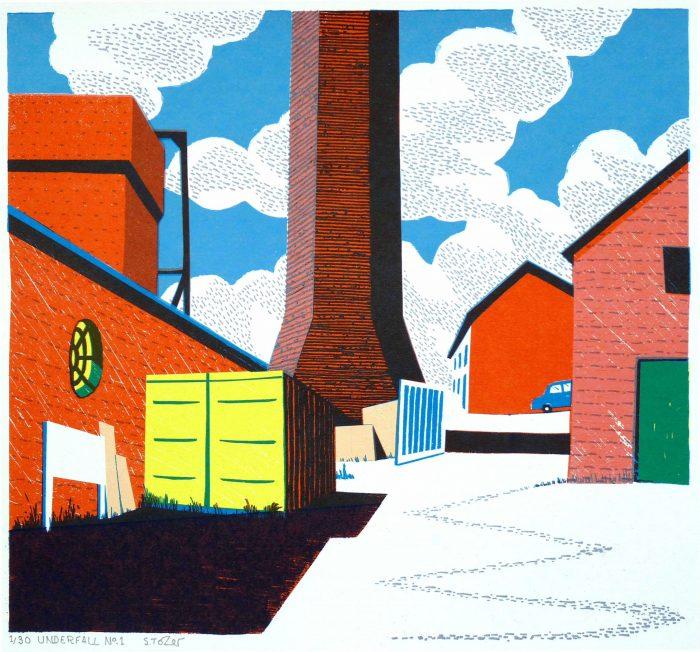 Underfall No.1 - Simon Tozer - Discover Contemporary Art Prints & Printmaking