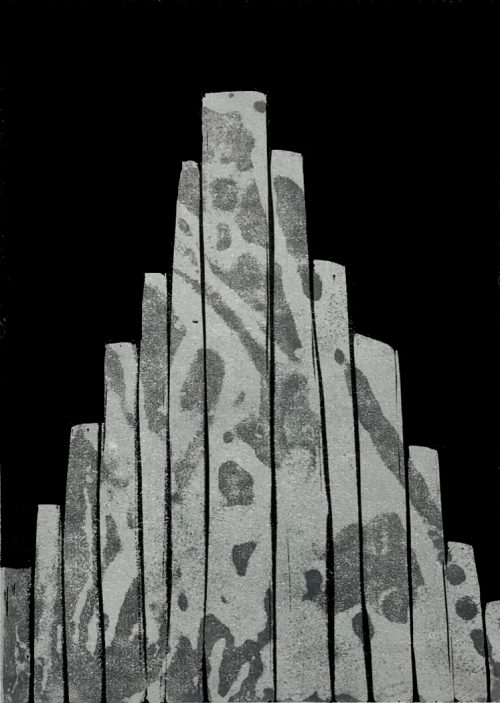 Column Pyramid (Reynisfjara memory) - Grace Hailstone - House of Prints