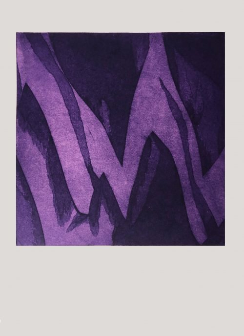 Untitled (Purple Zig) - Grace Hailstone - Discover Contemporary Art Prints & Printmaking
