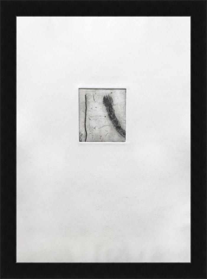 Common Ground II (2019) Lina Avramidou, Etching, 21 x 30cm