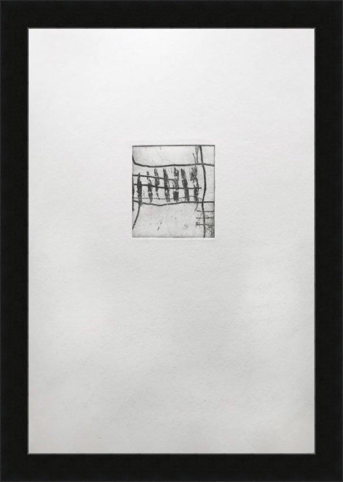 Common Ground III (2019) Lina Avramidou, Etching, 21 x 30cm