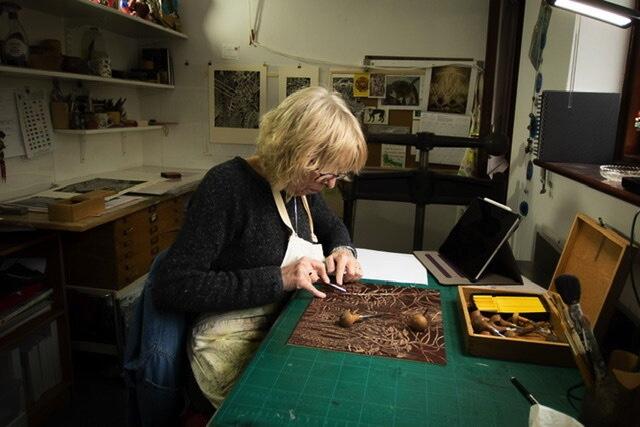 Helen Anne Taylor, Woodcut Artist