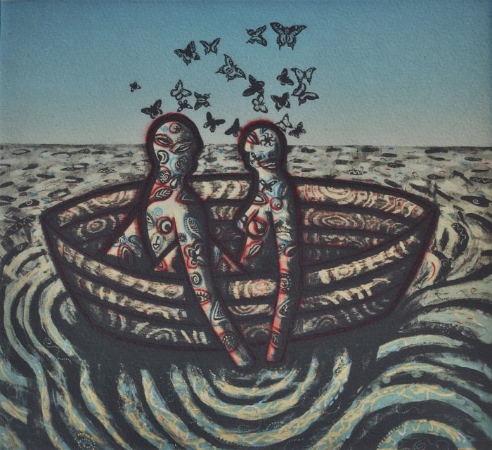 Butterfly Ocean - Trevor Price - Discover Contemporary Art Prints & Printmaking