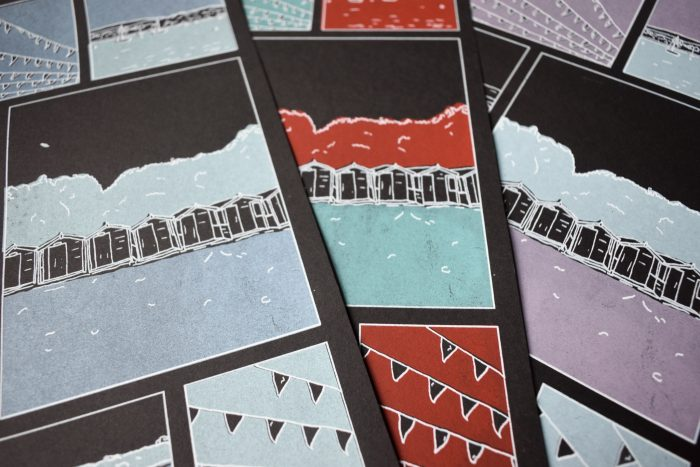 Seaside - Lily Banks - Discover Contemporary Art Prints & Printmaking