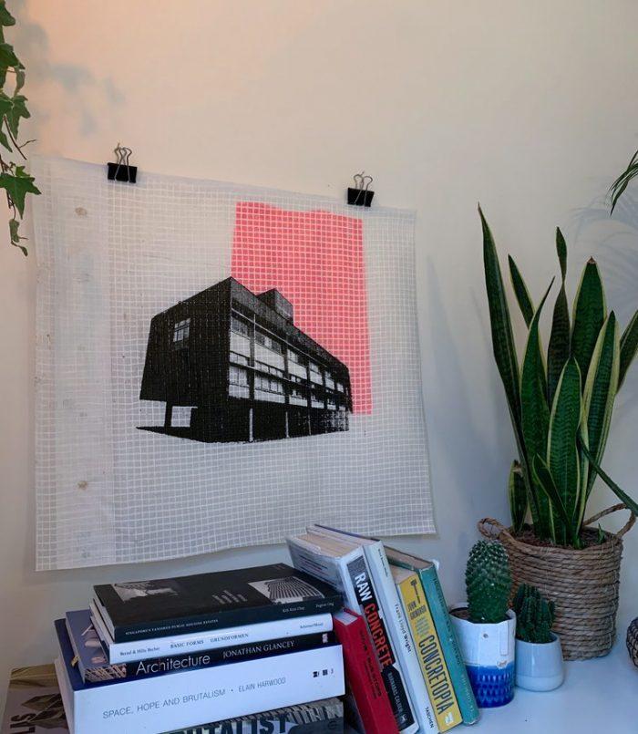 Goldfinger House, Pink - Adam Garratt - Discover Contemporary Art Prints & Printmaking