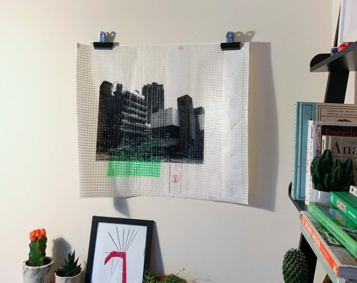 Barbican, Green - Adam Garratt - Discover Contemporary Art Prints & Printmaking