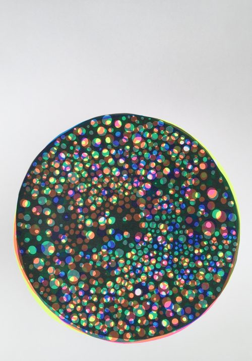 Circular Matter, Black - Jenni Allen - Discover Contemporary Art Prints & Printmaking