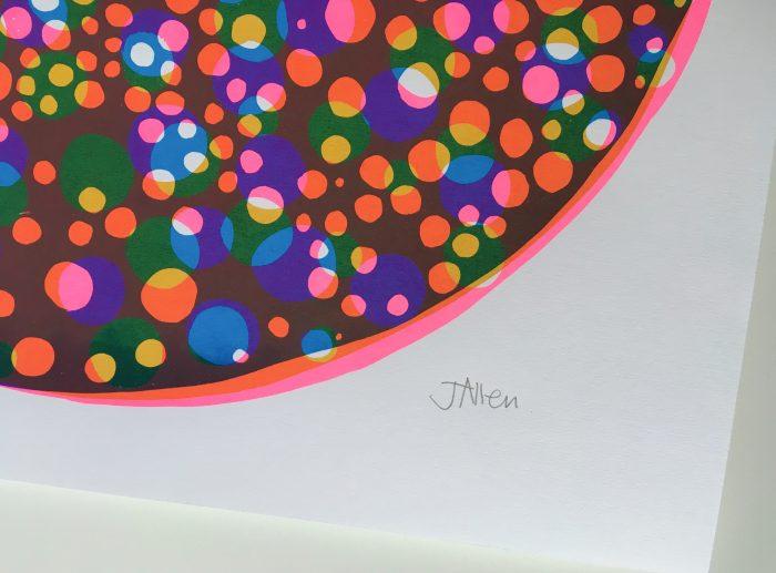 Circular Matter, Pink - Jenni Allen - Discover Contemporary Art Prints & Printmaking