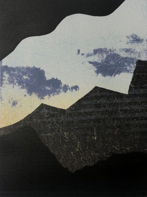 Icelandic Sky - Grace Hailstone - Discover Contemporary Art Prints & Printmaking