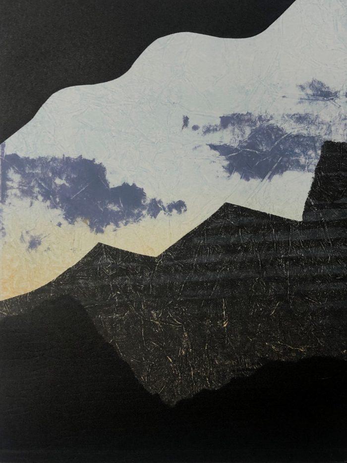 Icelandic Sky - Grace Hailstone - Discover Contemporary Art Prints & Printmaking