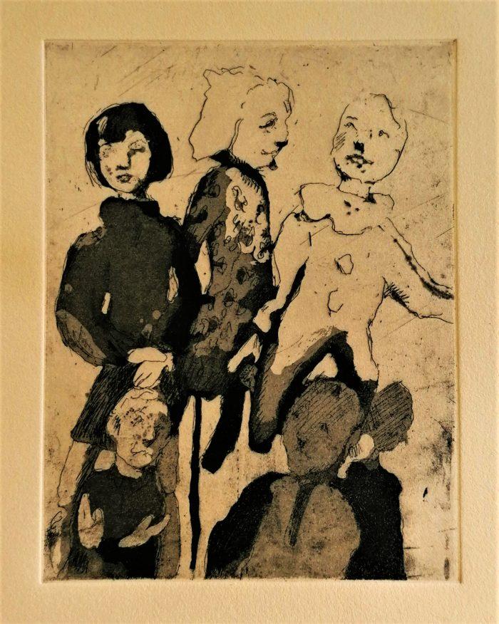 Rabble - Liorah Tchiprout - Discover Contemporary Art Prints & Printmaking