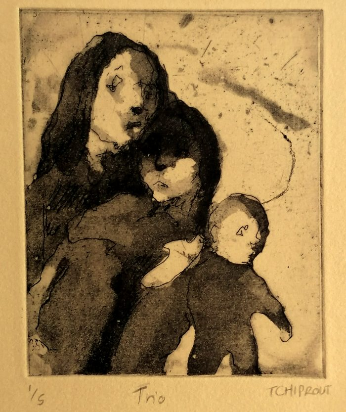 Trio - Liorah Tchiprout - Discover Contemporary Art Prints & Printmaking