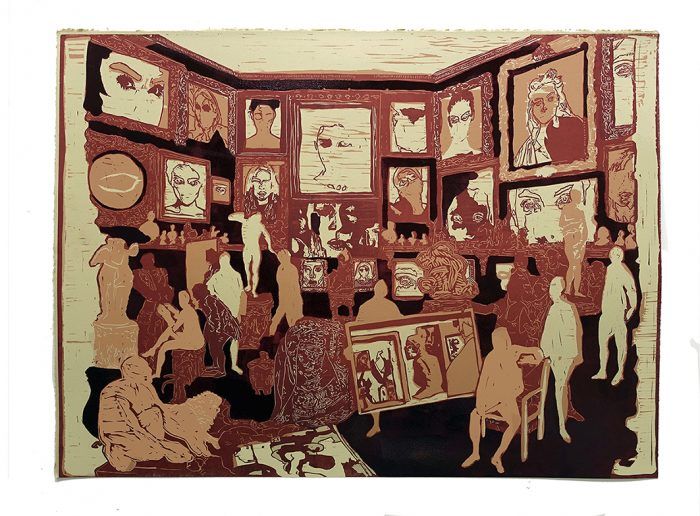 Private View - Jake Garfield - Discover Contemporary Art Prints & Printmaking