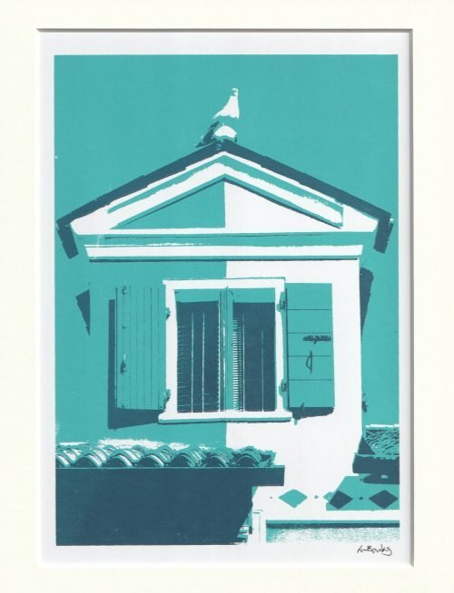 Burano Window - Lily Banks - Discover Contemporary Art Prints & Printmaking