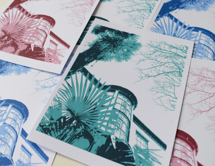 Under the Palms - Lily Banks - Discover Contemporary Art Prints & Printmaking